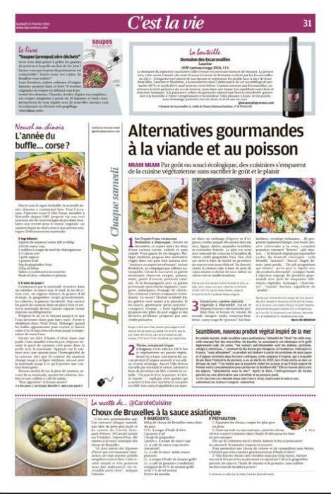 article recette corse avec du saumon