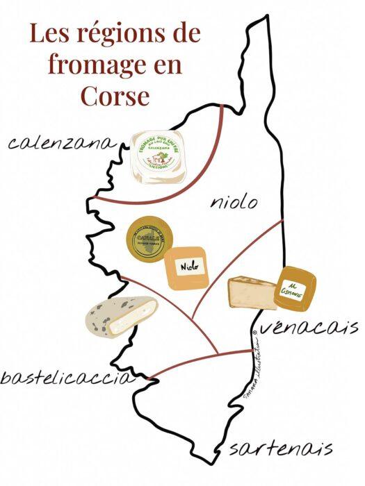 région fromage corse